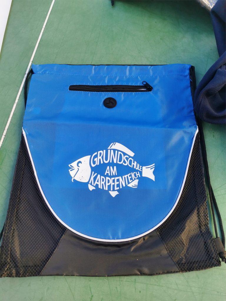 Turnbeutel mit Logo